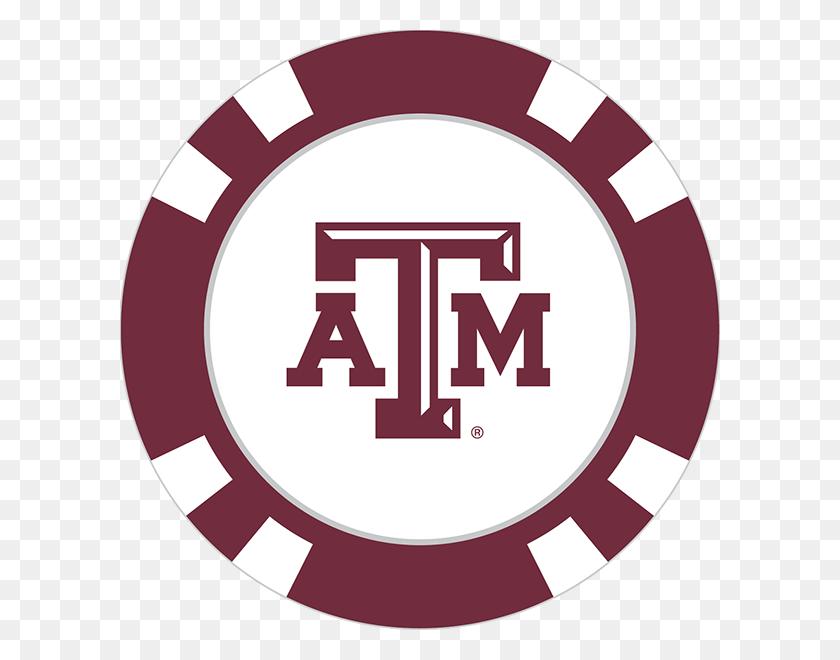 Texas Aampm Aggies Poker Chip Ball Marker - Texas Aandm Logo PNG