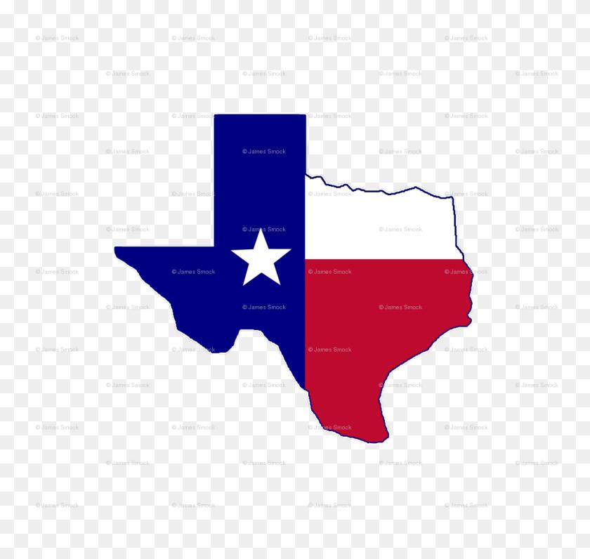 Texas Flag Map Fabric - Texas Flag PNG