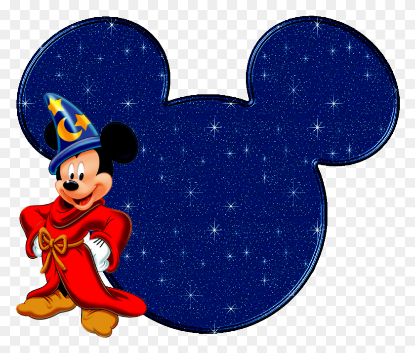 Thank You Card - Mickey Ears PNG