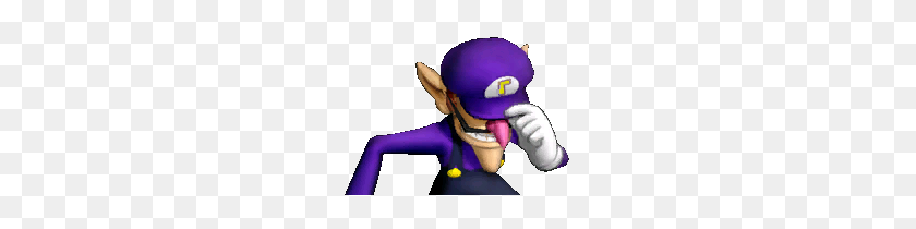 Thanks Gabe Let's Bow Our Heads For Our Boy Waluigi Assist - Waluigi Head PNG