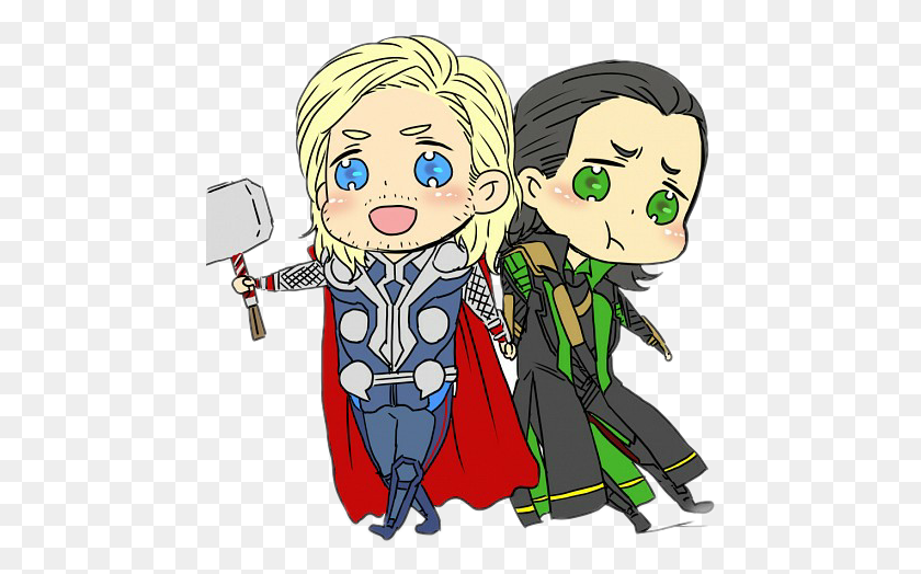 464x464 The Avenger Thor Loki - Loki Clip Art