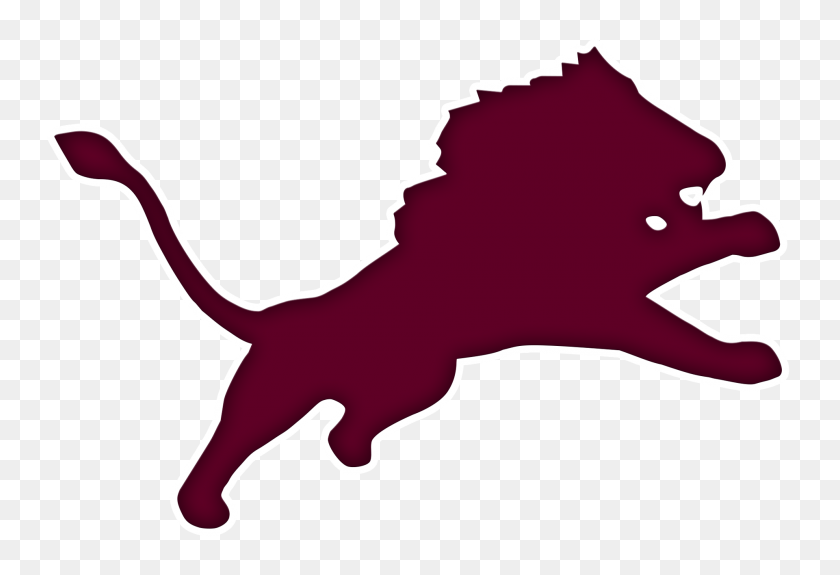 The Brownwood Lions - Lion Mascot Clipart