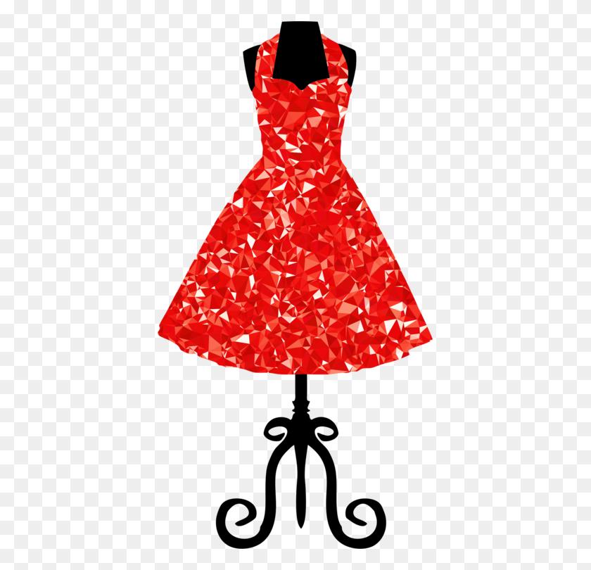 The Dress Clothing Sundress Polka Dot - Ruby Clipart