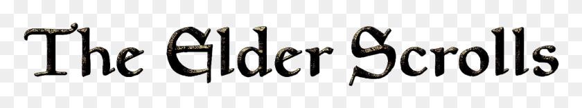 The Elder Scrolls Png Transparent The Elder Scrolls Images - Skyrim Logo PNG