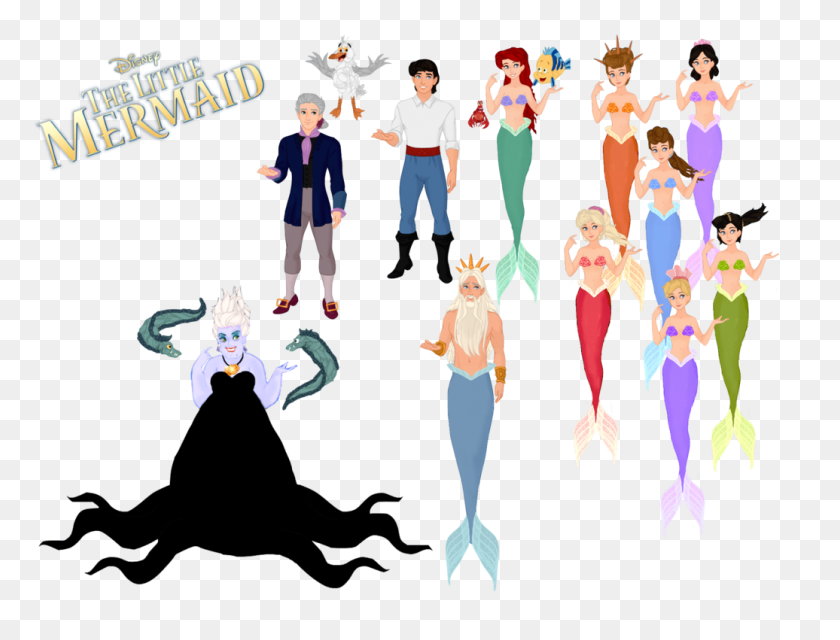 The Little Mermaid Anniversary - The Little Mermaid PNG