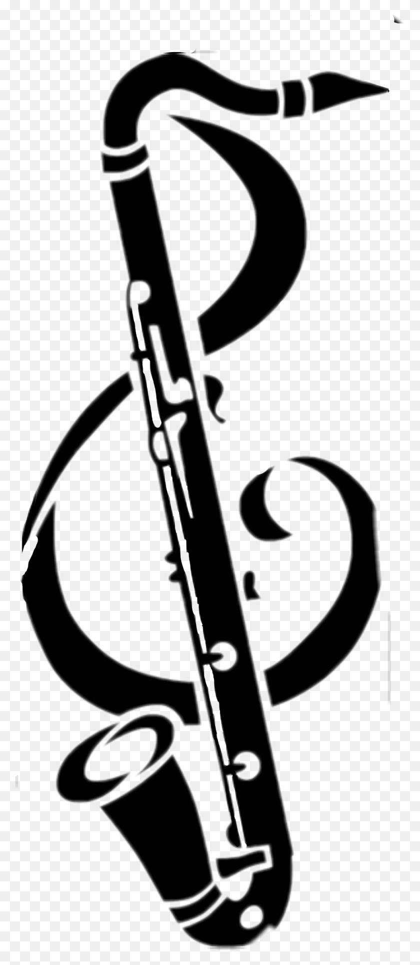 The Newest Bass Trombone Stickers - Bass Clarinet Clip Art