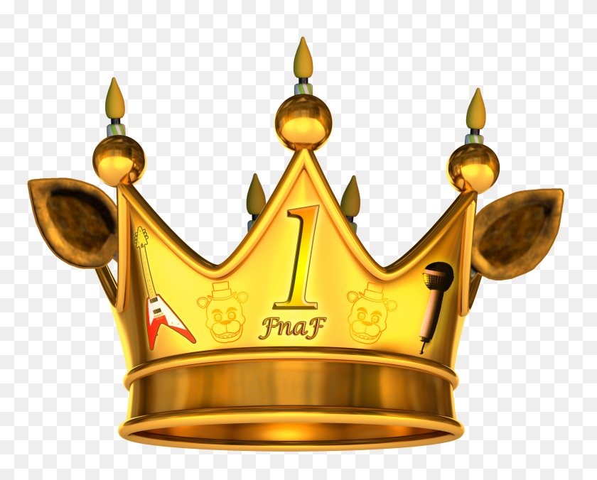 2188x1730 The Official Crown Of Completing Fnaf - Burger King Crown PNG