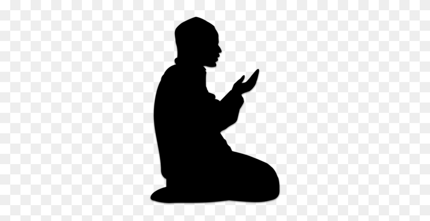 The Power Of Prayers And Praises Clipart - Kneeling In Prayer Clipart