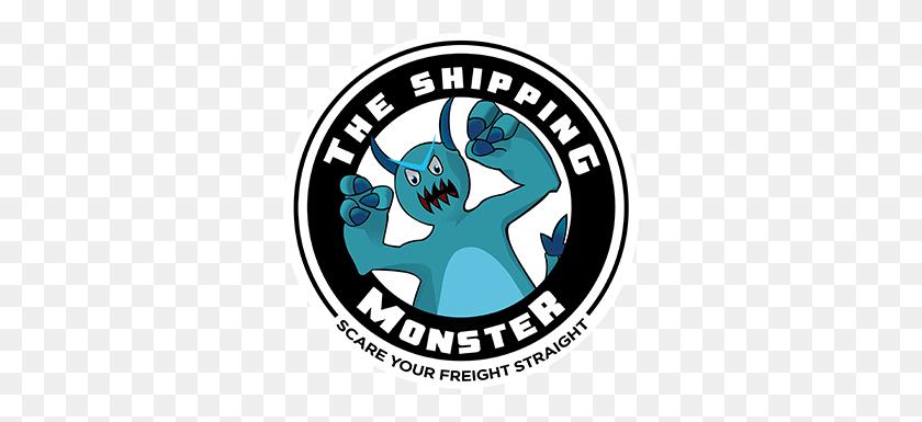 324x325 The Shipping Monster Logo - Monster Logo PNG