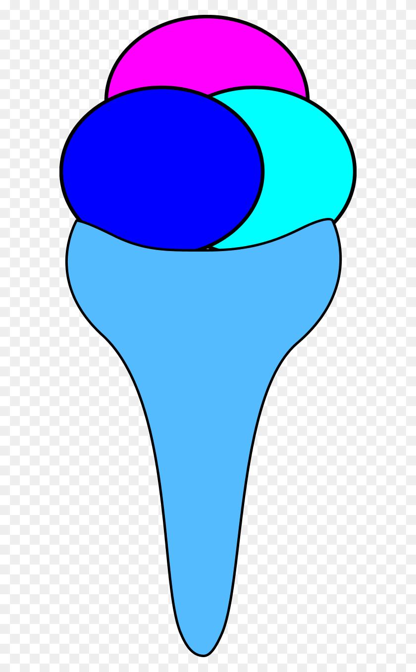 The Sketchpad Ice Cream Cone Clip Art - Icecream Cone