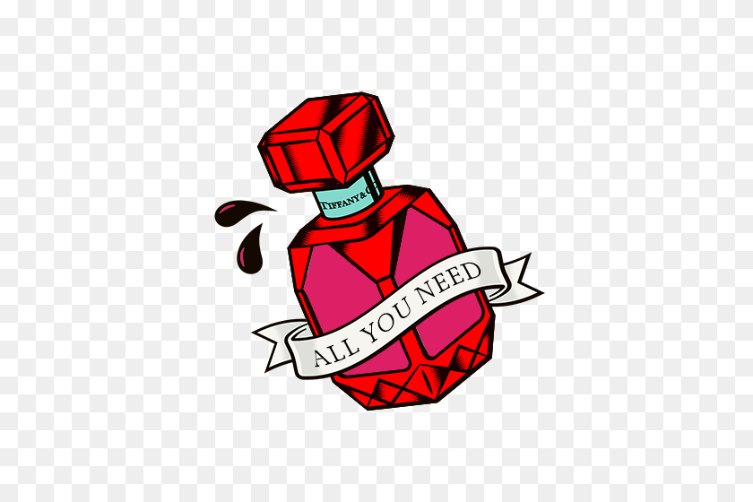 The Tiffany Tattoo Shop, Valentine's Day Tattoo Designs Tiffany - Valentine Party Clip Art