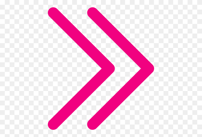 The Trial In Right Arrow, Arrow Right, Navigate Icon With Png - Pink Arrow PNG