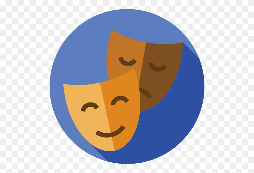 512x512 Theatre Drama Computer Icons Clip Art - Free Drama Clipart