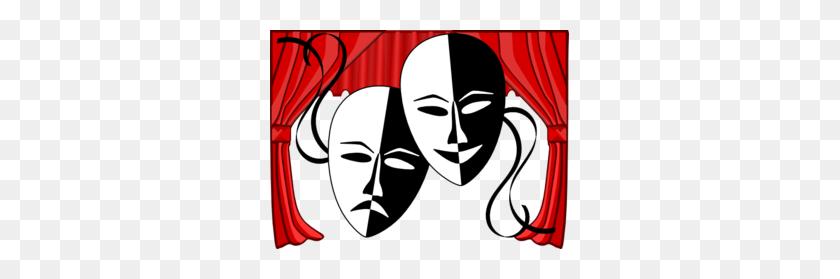 Theatre Masks Clip Art - Masks Clipart