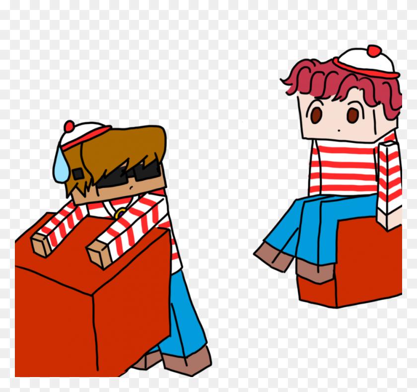 There's Waldo - Wheres Waldo Clipart