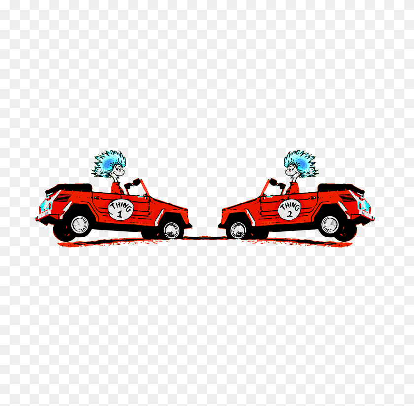 Thing The Bensin Clothing Company - Thing 1 And Thing 2 PNG