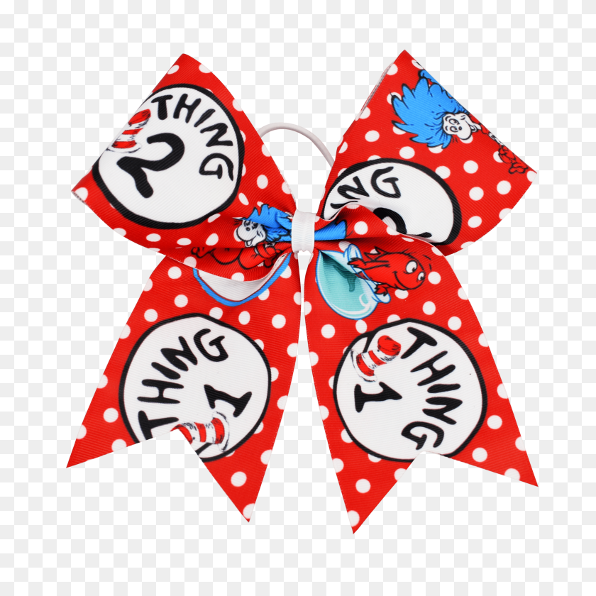 Thing Thing I Love Hair Bow I Love - Thing 1 And Thing 2 PNG