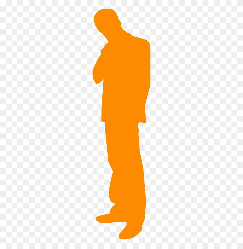 Thinking Man Free Vector - Thinking Man Clipart