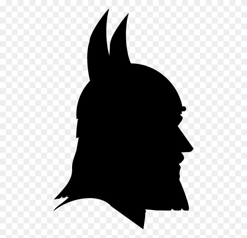 476x750 Thor Loki Silhouette Viking Norsemen - Thor Clipart