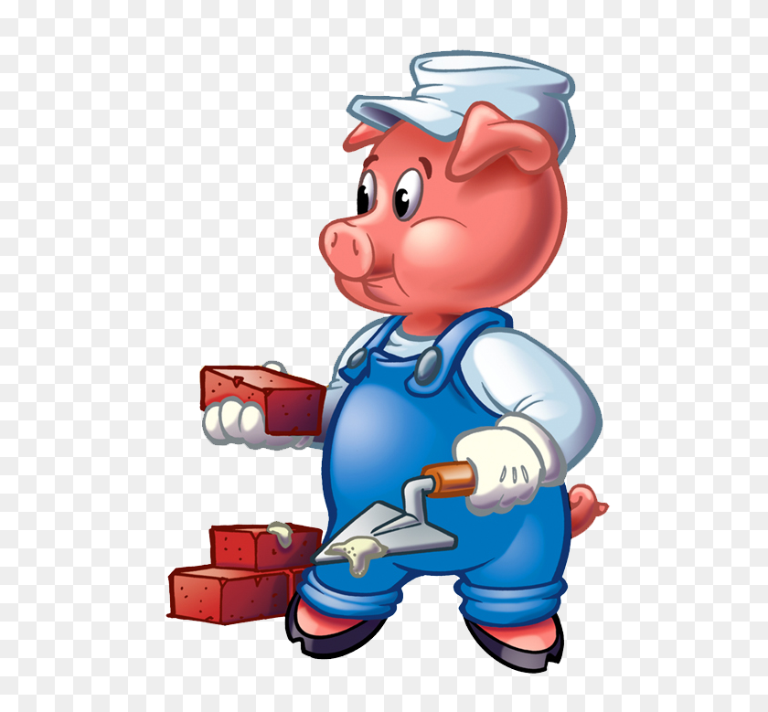 Three Little Pigs Clip Art Cliparts Co Engineering In K - Pig Clipart