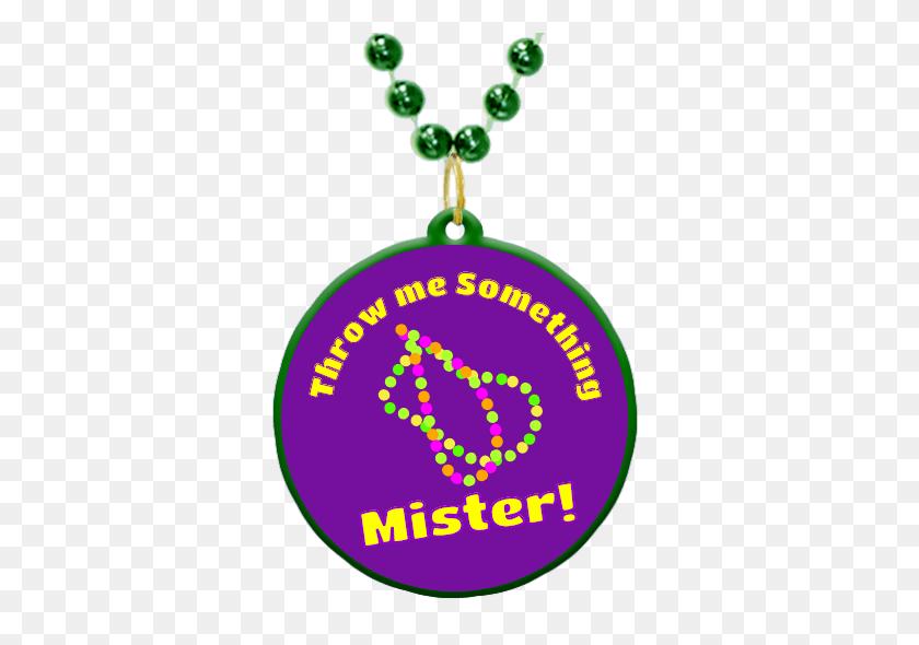 Throw Me Something Mister Theme Custom Mardi Gras Beads Mardi