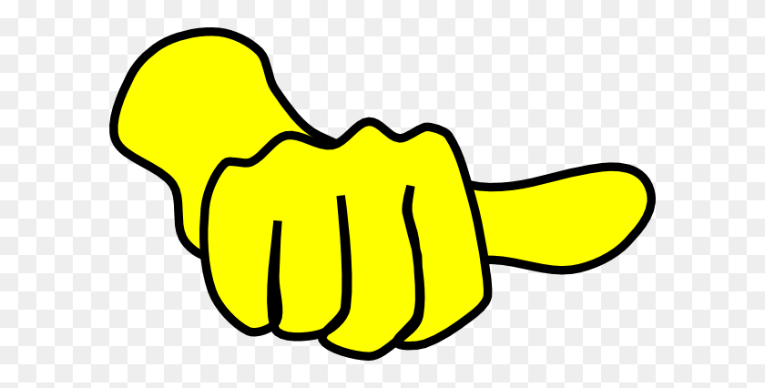 Thumb Sideways Clip Art - Thumbs Pointing To Self Clipart