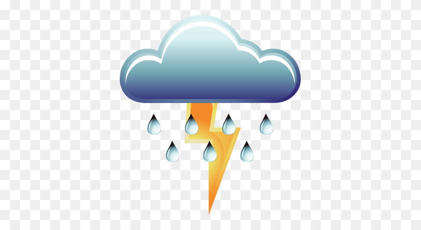 Thunderstorm Clip Art - Thunderstorm Clipart