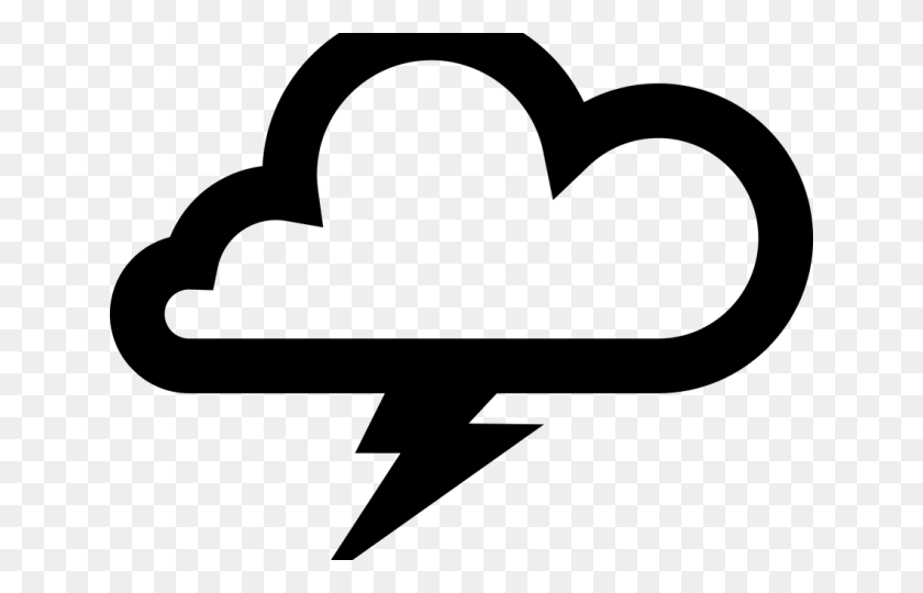 640x480 Thunderstorm Clipart Hurricane - Hurricane Clipart