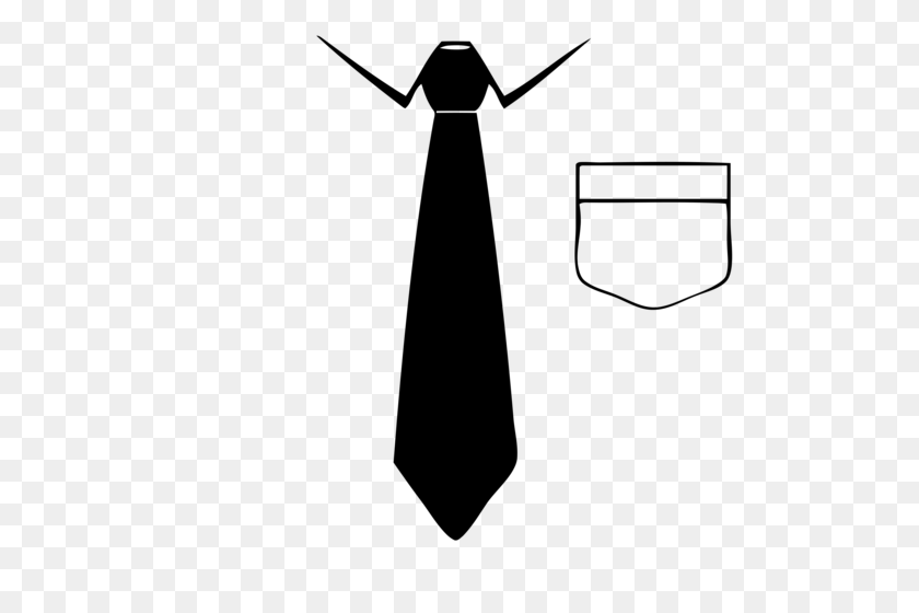 Tie Transparent Png Pictures - Black Tie PNG
