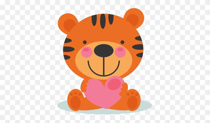 Tiger Clipart Baby Tiger - Tiger Clipart