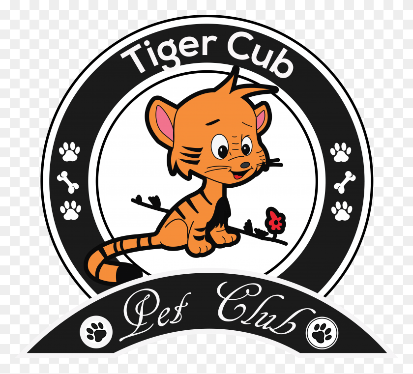 Tiger Cub Artworktee - Tiger Cub Clipart