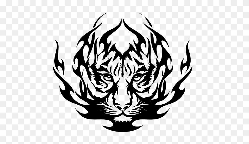 Tiger Eyes Tattoo - Tiger Eyes Clipart