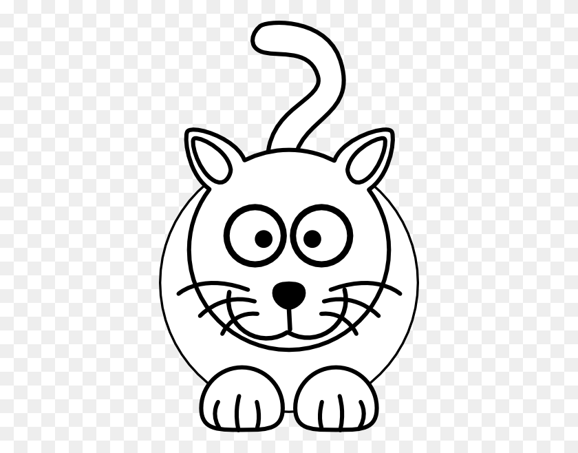 378x598 Tiger Face Clip Art Black And White - Saber Clipart