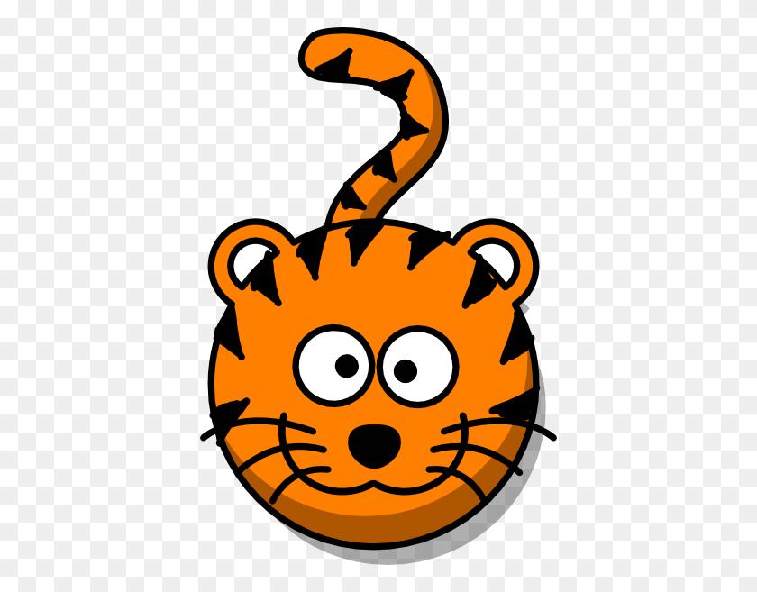 Tiger Head Clip Art - Heads Up Clipart