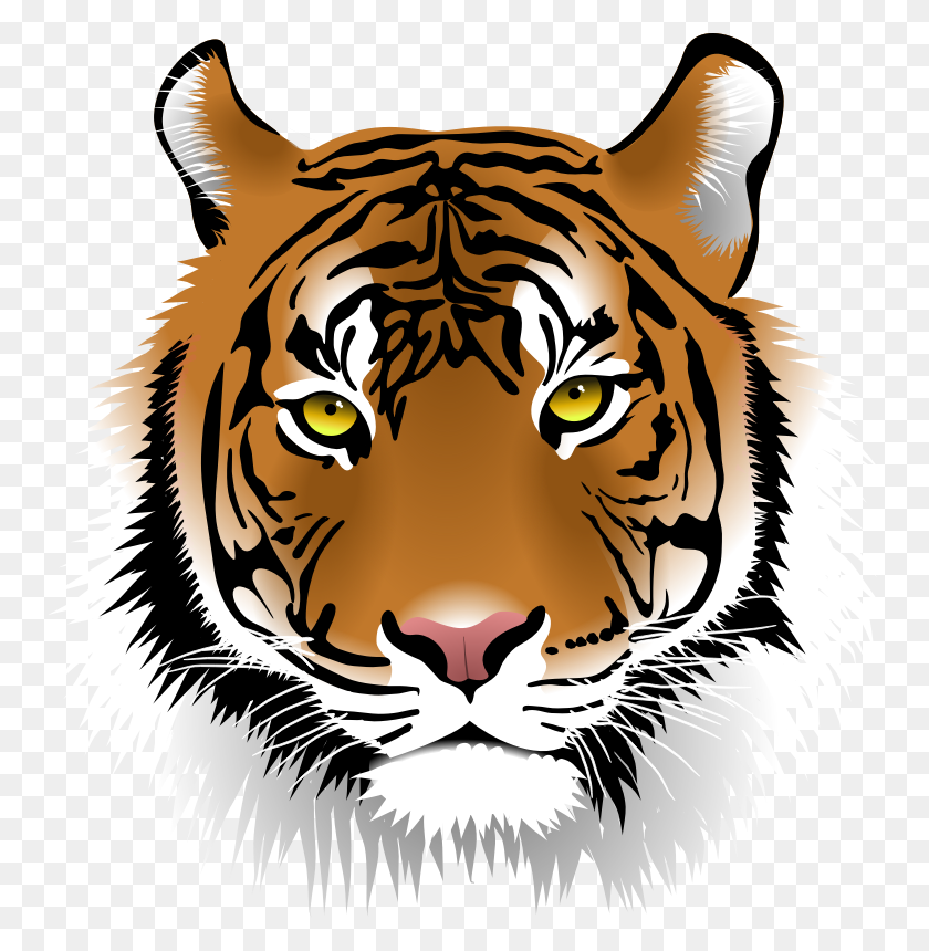 Tiger Head Clip Art Look At Tiger Head Clip Art Clip Art Images - Head Clipart
