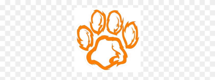 Tiger Mascot Clip Art Clipart - Louisiana Clipart