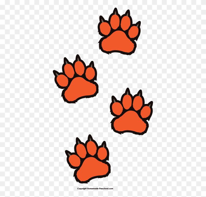 Tiger Paw Print Clip Art Look At Tiger Paw Print Clip Art Clip - Baby Tiger Clipart
