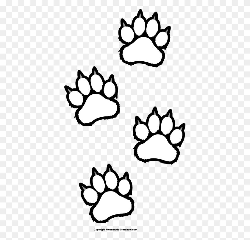 Tiger Paw Print Clip Art Look At Tiger Paw Print Clip Art Clip - Boot Print Clipart
