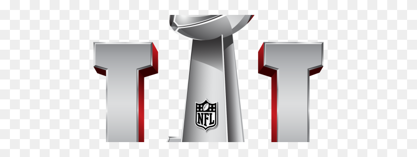 512x256 Time For The Super Bowl To Drop Roman Numerals - Lombardi Trophy PNG