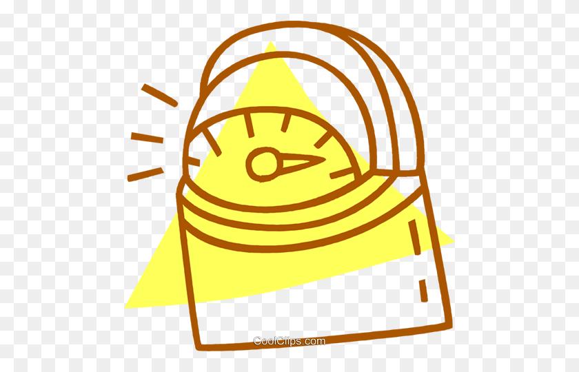 Timer Royalty Free Vector Clip Art Illustration - Timer Clipart