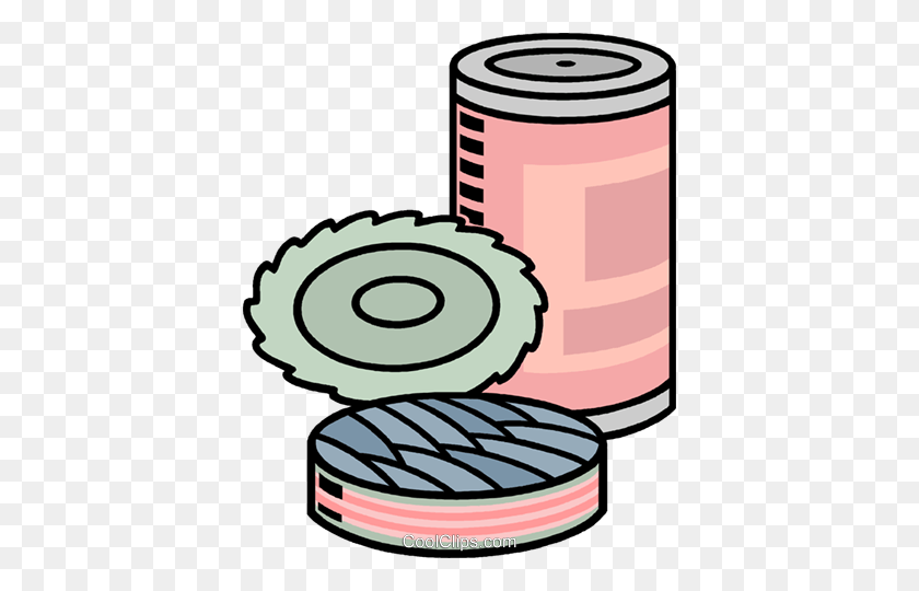 Tin Of Sardines Royalty Free Vector Clip Art Illustration - Tin Clipart