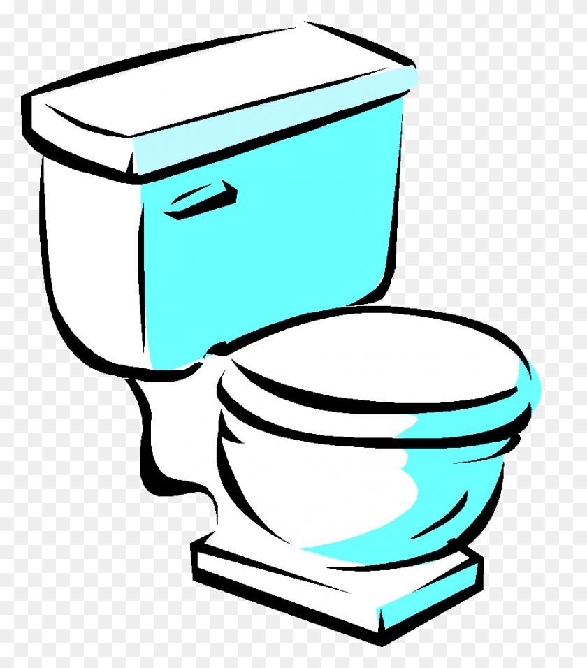 Transparent Toilet Clip Art - Toilet Clipart, HD Png Download - kindpng