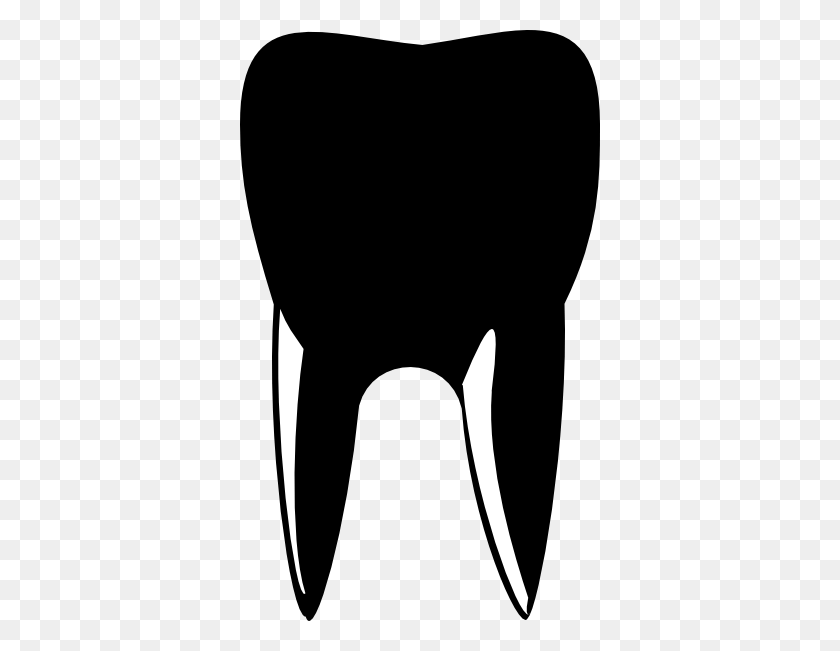 Tooth Black Cliparts - Tooth Clipart Black And White