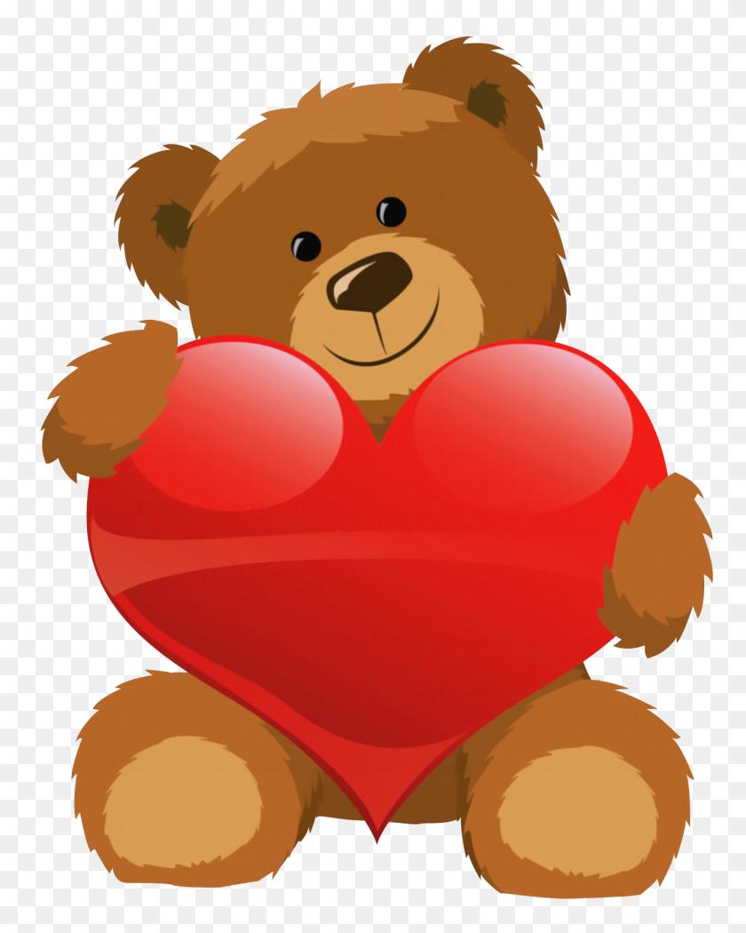 Top Bear Clipart - Cute Teddy Bear Clipart