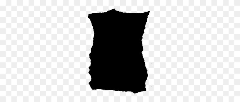 Torn Paper Black Clip Art - Torn Paper Clipart