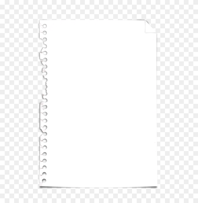 Torn Paper Clipart - Torn Page PNG