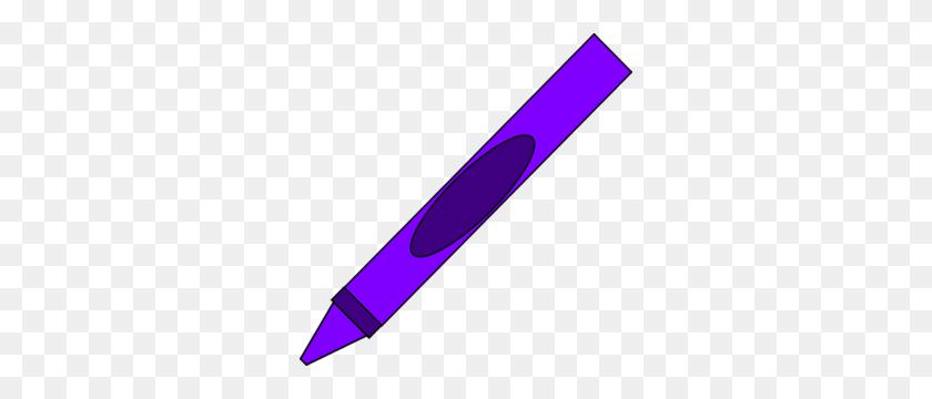 Totetude Purple Crayon Clip Art - Red Crayon Clipart