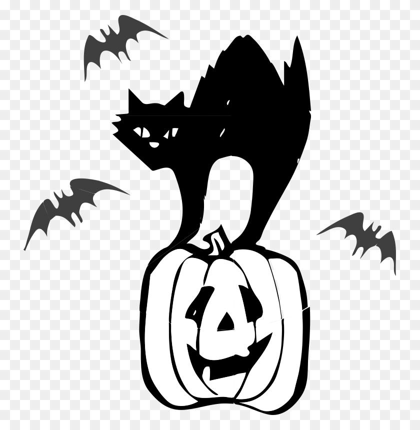 Town Hall Clip Art - Pumpkin Clipart Free Black And White