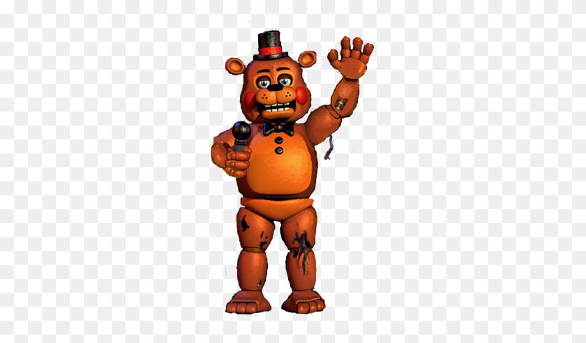 Toy Withered Freddy Fnaf Toyfreddy Witheredfreddy - Fnaf