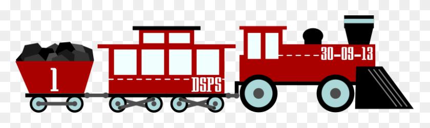 Train Clip Art Clipart Images - Toy Train Clipart